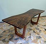 Ebanisteria Gambella - Tavolo in resina con legno di Briccola