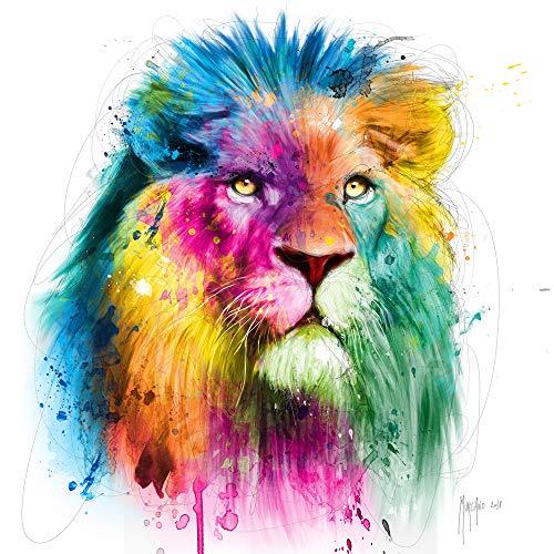 International Graphics Fertigbild - MURCIANO, Patrice - ''Lion'' - 30 x 30 cm - Direktdruck auf Acryl