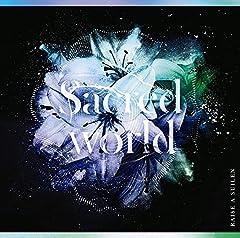 RAISE A SUILEN「Sacred world」の歌詞を収録したCDジャケット画像