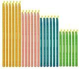 beijieaiguo Palos del Sellador De Cierre Reutilizable del Sellador Sticks Clips De Alimentos del Sellador, La Cocina para Guardar Accesorios 24 Piezas