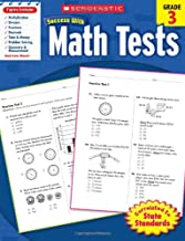 Scholastic Success with Math Tests,  Grade 3 (Scholastic Success with Workbooks: Tests Math)