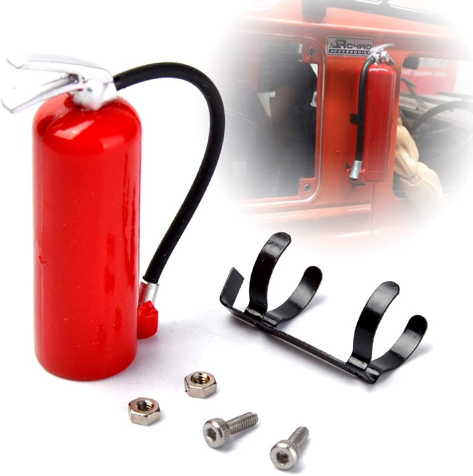 COOLSKY store 1 70% OFF Outlet 10 Scale Fire Extinguisher Crawler Car for Rock RC 900