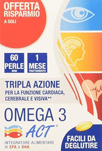 ACT Omega 3 con 540Mg - 60 Perle