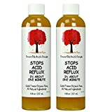 Caleb Treeze Organic Farms Stops Acid Reflux 8oz - Pack of 2