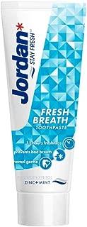 Jordan Fresh Breath Toothpaste, 75ml ' 1 Units