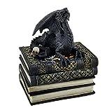–Juego de Cajas Decorativas dragón Medieval Antiguo Libros Joyero/Stash Box 4x 8x 5,5Pulgadas Modelo # sf-62