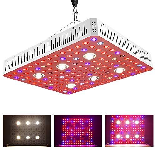 3000W COB LED-Zuchtlampen, Vollspektrum VEG BLOOM Switch Phyto Lamp Gewächshauszeltzuchtleuchten für Zimmerpflanzen