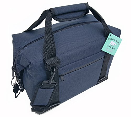 Polar Bear Coolers 12 Pack Original Soft Cooler Navy