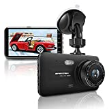 "[2020 New] Apexcam 4"" IPS Dash Cam 1080P FHD Driving Recorder Front"