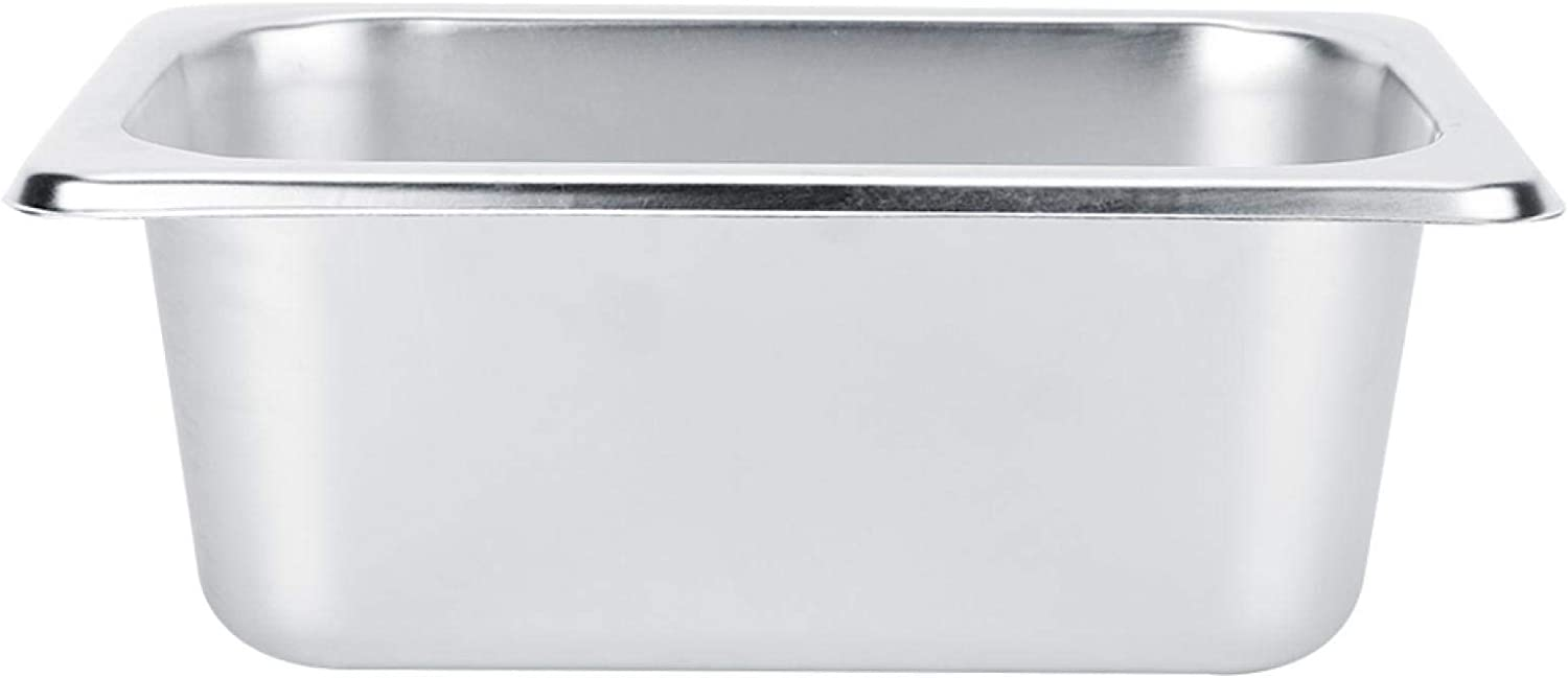 Buffet Server Warming OFFicial store Tray Max 81% OFF Stainless Food Pl Basin Steel