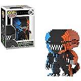 Funko Pop 8 bit : Alien - Xenomorph#24 (Exclusive) 3.75inch Vinyl Gift for Movies Fans SuperCollection