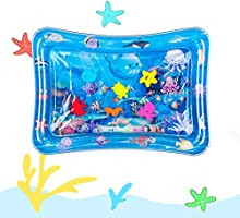 Hitituto Tummy Time Baby Water Mat Inflatable Baby Play Mat Activity Center for Infant Baby Toys 0 to 24 Months, Baby...