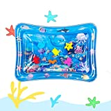 Tummy Time Baby Water Mat Inflatable Baby Play Mat Activity Center for Infant Baby Toys 0 to 24 Months, Baby Gifts for Newborn Boys Girls