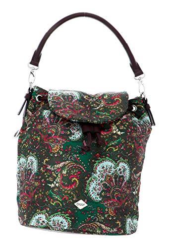 Oilily Damen Picnic Backpack Mvf Rucksack Grün (green)