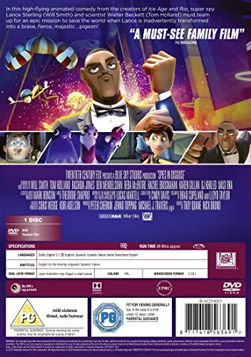 Spies in Disguise DVD [2019]