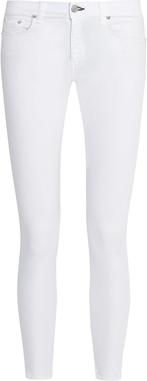 Rag & Bone Bright White Capri Jeans 28
