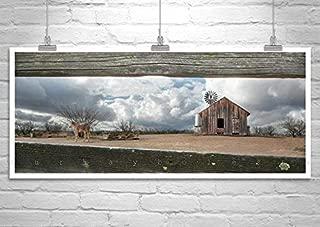 Rustic Western Ranch, Horse Art, Empire Ranch Sonoita Arizona