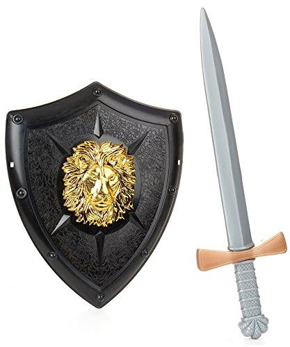 Kit de chevalier - Deguisement - Carnaval - Plastique - 50cm - 44482
