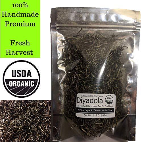Organic Ceylon White Tea - Re-sealable Pouch