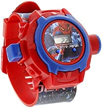 The Flyers Bay Spiderman Unique 24 Images Projector Digital Toy Watch for Kids - Good Return Gift - Enjoy with 24 Image Pr...