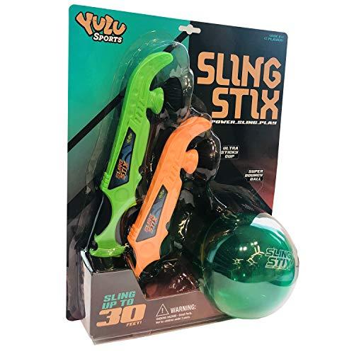 YuLu YL10330 Sling Stix, Naranja y Verde
