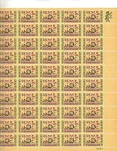 U.S. Homemakers Sheet of 50 x 5 Cent US Postage Stamps Scott 1253 by USPS