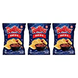 Ruffles Bar-B-Q Potato Chips 200g/7.05oz, 3-Pack {Imported from Canada}