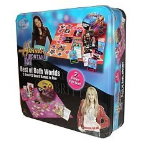 'Hannah Montana' Best of Both Worlds CD Board Game Tin