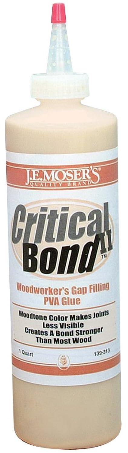 J.E. Moser's 139313, Adhesives, Water Based, Critical Bond II Wood Glue