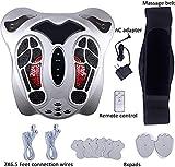VCtyui Máquina de masajeador de pies médica, Dispositivo fisioterapéutico con función de reflexología del pie, acupuntura y Terapia de Infrarrojos para el Alivio del Dolor crónico