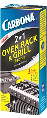 Carbona 2in1 Oven Rack and Grill Cleaner