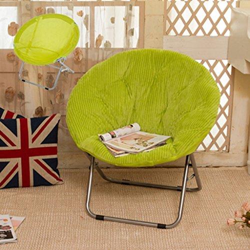 LI Jing Shop - Fauteuil Radar Grand Adulte à Plateau Pliant Home Lunch Break Sofa Chair (Couleur : Vert)