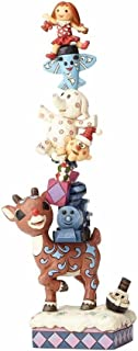 """Jim Shore """"Rudolph the Red-Nosed Reindeer"""" Traditions, Rudolph & Misfits Stone Resin Figurine, 11.5"""