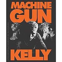 """MACHINE GUN KELLY ORANGE LOGO STICKER - Machine Gun Kelly Image Orignal Artwork Premium Decal STICKER - 4"""" x 5"""""""