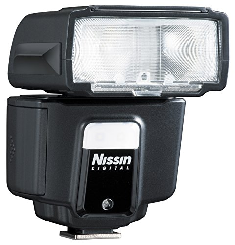 Nissin Digital NFG013N - Flash con Zapata para DSLR Nikon, Negro
