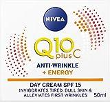 Nivea Q10 Plus SPF 15 Crema Energizzante Anti-Rughe, 50ml