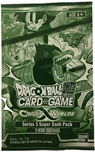 Bandai BCLDBBO7412 Dragon Ball Super Kartenspiel: Cross Worlds Booster, Mehrfarbig