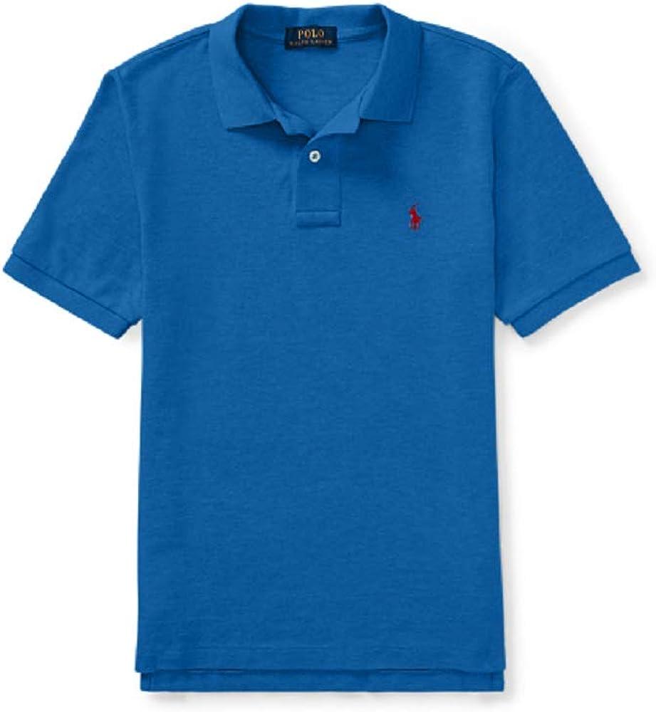 Ralph Lauren Boys Cotton Mesh Polo Shirt, and Sizez