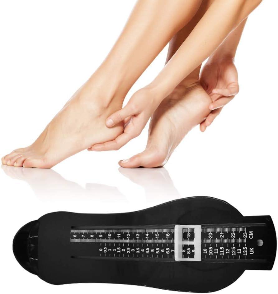 1 Appareil de Mesure du Pied pour Enfants et Adultes Outil de Mesure de la Pointure des Chaussures pour Enfants l/égers Bien pour Acheter des Chaussures en Ligne