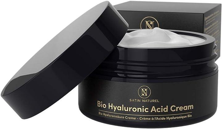 Crema acido ialuronico viso  satinnaturel B07MZF59V9