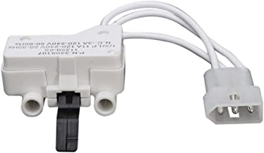 MAYITOP 3406107 DRYER DOOR SWITCH FOR WHIRLPOOL KENMORE SEARS MAYTAG ROPER ESTATE