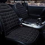 Jcsdhly 12V Auto Heizauflagen Erhitzt Sitz Abdeckung Verdickung Heiß Warm