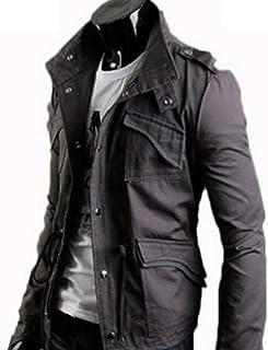4d7b07a0df4e07 AMBLY ライダースジャケット メンズ ミリタリー ブルゾン アウター ジップアップ コーデ バイクウェア 春 夏 秋 メンズ