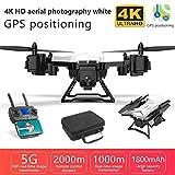 MezoJaoie Droni con videocamera HD 4K, Drone Pieghevole per Video Live KY601G 5G...