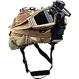 Casco Airsoft, Casco Militar Táctico M88 Casco Protector Fibra De Vidrio De 10 Mm De Espesor Material Deportivo para Juegos Al Aire Libre Gafas Airsoft Paintball Casco