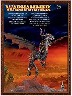 Games Workshop Warhammer Dark Elf Lord on Black Dragon