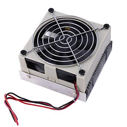 Andifany DIY Enfriador TermoeléCtrico Sistema de RefrigeracióN Semiconductor Kit de Sistema de RefrigeracióN Disipador de Calor Enfriador Peltier para Agua de 10L