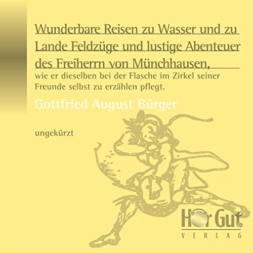 Münchhausens Abenteuer Titelbild