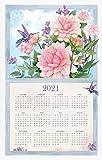Nature s Palette 2021 Calendar Towel