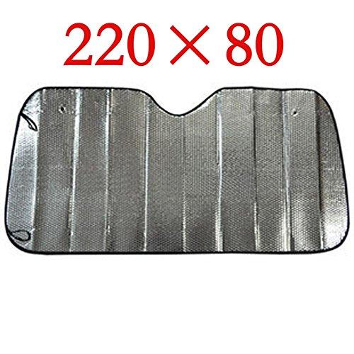 Inovey Parasol en Aluminium De Haute Qualité D'Aluminium pour des Grandes Voitures 220Cm * 80 Cm pour De Grands Camions